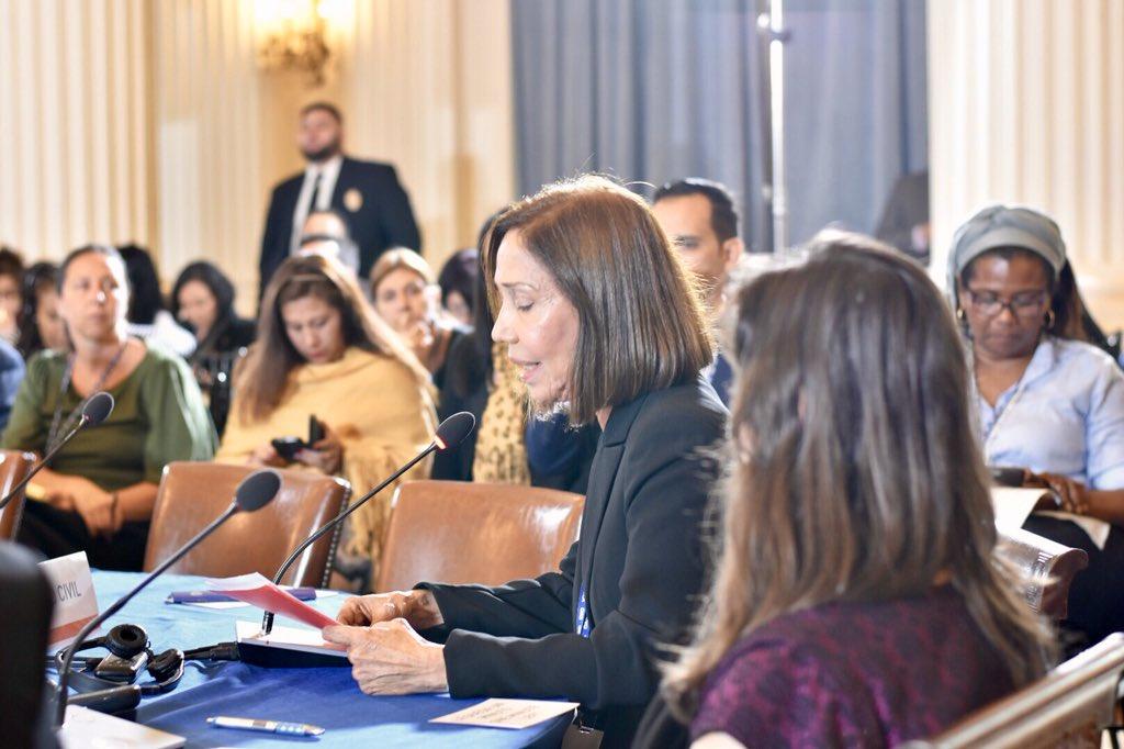 Sures presente en foro de la sociedad civil en 48° Asamblea General de la OEA