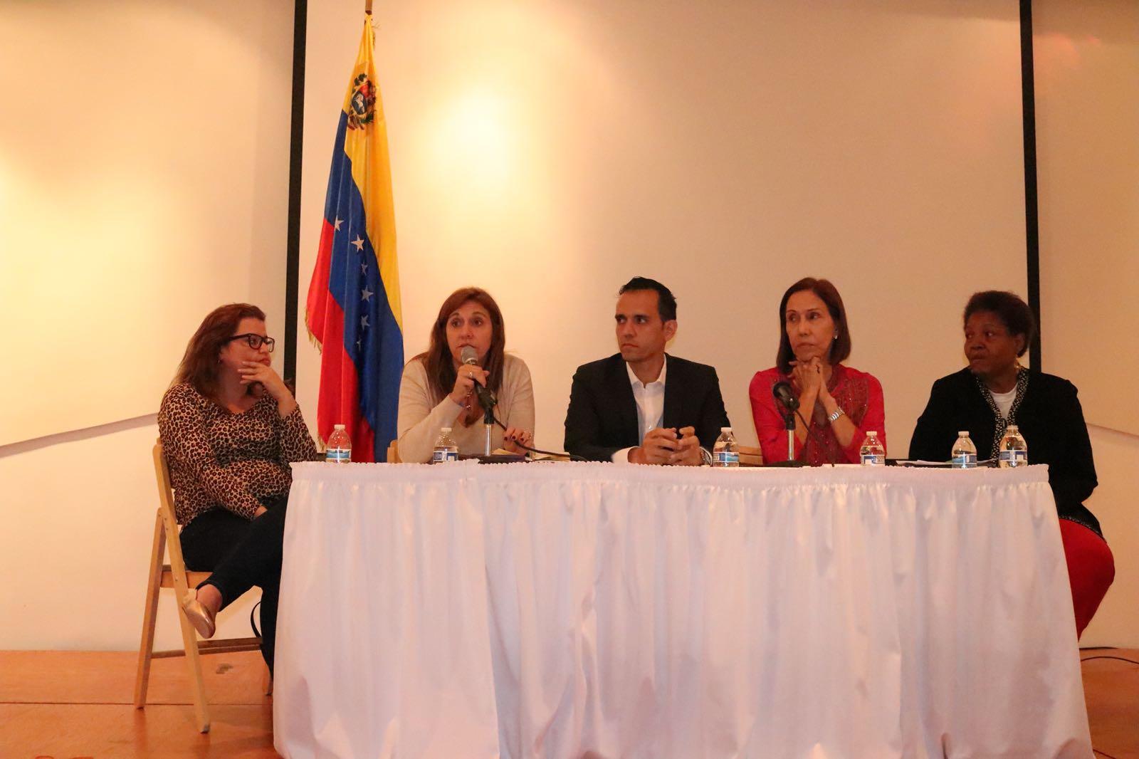 Sures y organizaciones sociales debaten en EEUU el impacto de las medidas coercitivas unilaterales hacia Venezuela