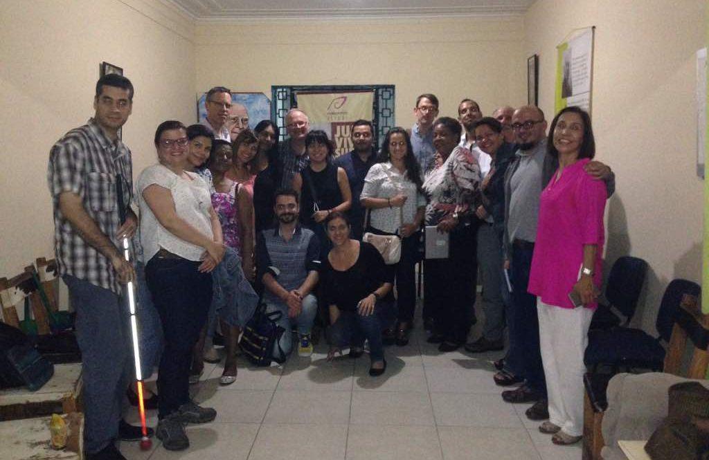 Sures se reúne con organizaciones de DDHH de EEUU, Brasil y Colombia
