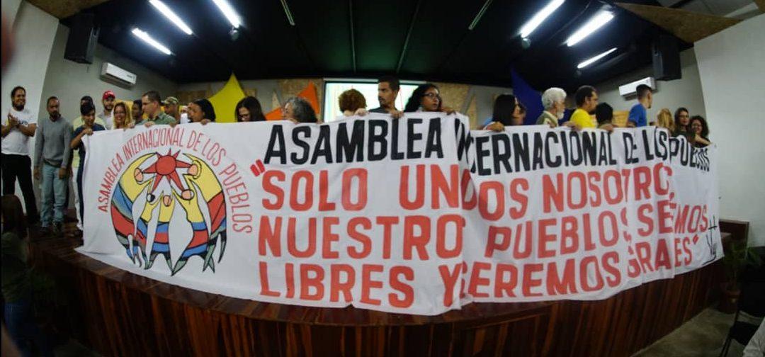 Sures participa en la preparación de la Asamblea Internacional de los Pueblos 2019