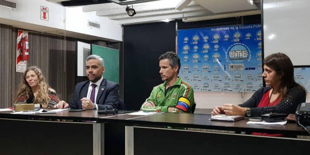 """FORO """"BLOQUEO CRIMINAL DE EE.UU. CONTRA VENEZUELA"""""""