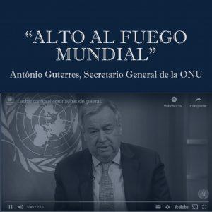 """""""ALTO AL FUEGO MUNDIAL"""""""